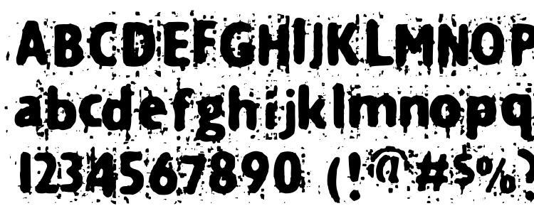 глифы шрифта Technine, символы шрифта Technine, символьная карта шрифта Technine, предварительный просмотр шрифта Technine, алфавит шрифта Technine, шрифт Technine