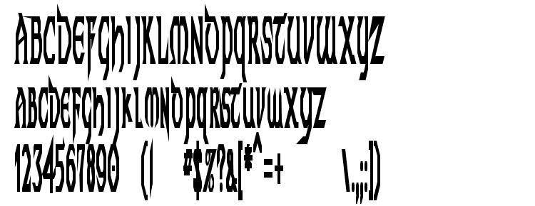glyphs Techno Longer font, сharacters Techno Longer font, symbols Techno Longer font, character map Techno Longer font, preview Techno Longer font, abc Techno Longer font, Techno Longer font