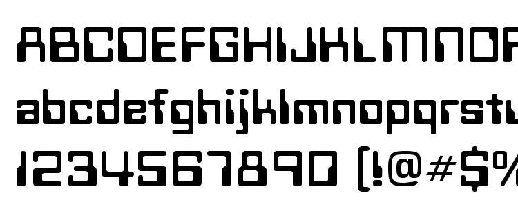glyphs Techno Normal font, сharacters Techno Normal font, symbols Techno Normal font, character map Techno Normal font, preview Techno Normal font, abc Techno Normal font, Techno Normal font