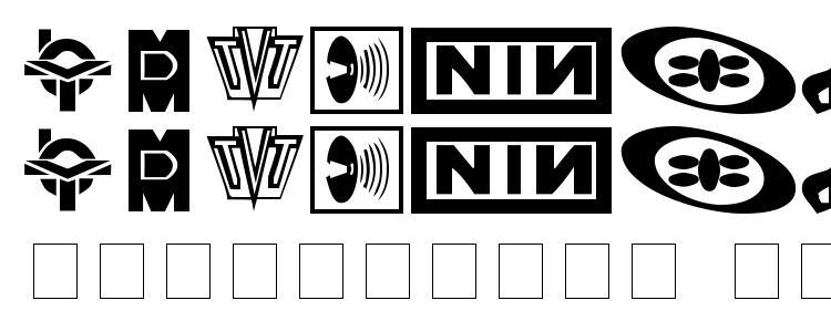 glyphs Technobats font, сharacters Technobats font, symbols Technobats font, character map Technobats font, preview Technobats font, abc Technobats font, Technobats font