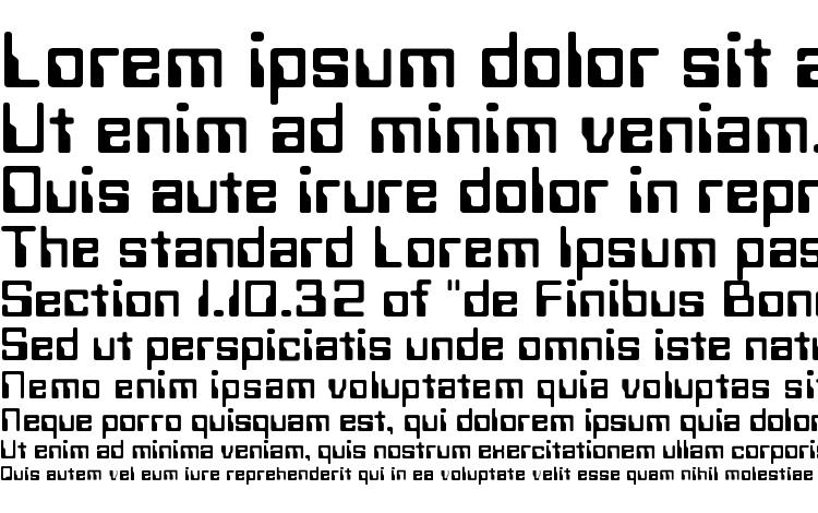 specimens Technoc font, sample Technoc font, an example of writing Technoc font, review Technoc font, preview Technoc font, Technoc font
