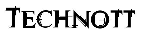 Technott Font