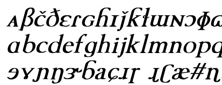 глифы шрифта TechPhonetic Bold Italic, символы шрифта TechPhonetic Bold Italic, символьная карта шрифта TechPhonetic Bold Italic, предварительный просмотр шрифта TechPhonetic Bold Italic, алфавит шрифта TechPhonetic Bold Italic, шрифт TechPhonetic Bold Italic