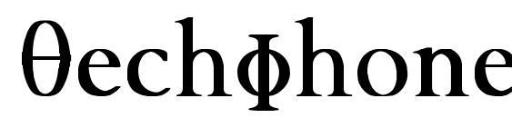 шрифт TechPhonetic Bold, бесплатный шрифт TechPhonetic Bold, предварительный просмотр шрифта TechPhonetic Bold