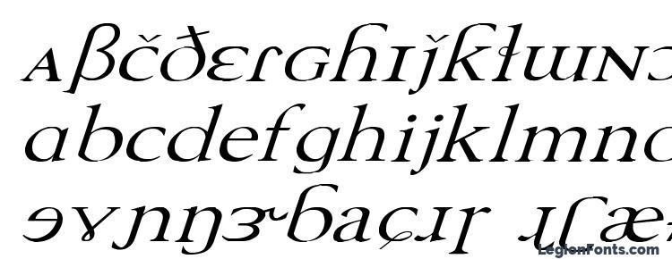 glyphs TechPhonetic Wd Italic font, сharacters TechPhonetic Wd Italic font, symbols TechPhonetic Wd Italic font, character map TechPhonetic Wd Italic font, preview TechPhonetic Wd Italic font, abc TechPhonetic Wd Italic font, TechPhonetic Wd Italic font