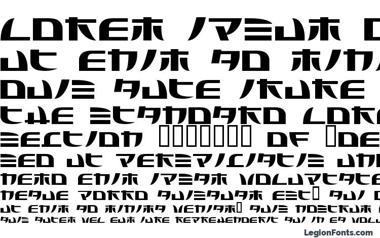 specimens Tecnojap font, sample Tecnojap font, an example of writing Tecnojap font, review Tecnojap font, preview Tecnojap font, Tecnojap font
