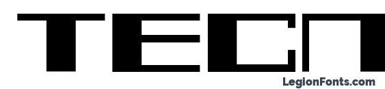 шрифт Tecnos a, бесплатный шрифт Tecnos a, предварительный просмотр шрифта Tecnos a