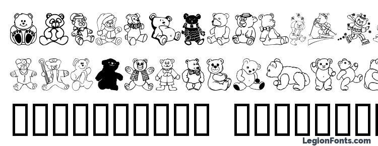 glyphs Teddios 1 font, сharacters Teddios 1 font, symbols Teddios 1 font, character map Teddios 1 font, preview Teddios 1 font, abc Teddios 1 font, Teddios 1 font