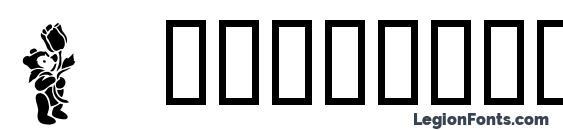 Teddybears2 font, free Teddybears2 font, preview Teddybears2 font