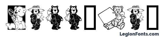 Teddyber V1.2 font, free Teddyber V1.2 font, preview Teddyber V1.2 font