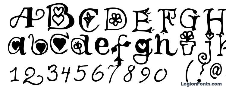glyphs Teenage girl 3 font, сharacters Teenage girl 3 font, symbols Teenage girl 3 font, character map Teenage girl 3 font, preview Teenage girl 3 font, abc Teenage girl 3 font, Teenage girl 3 font