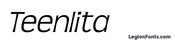 Teenlita Font