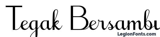 Tegak Bersambung IWK font, free Tegak Bersambung IWK font, preview Tegak Bersambung IWK font