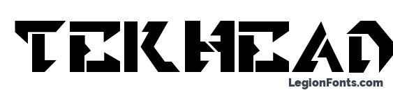 Tekhead Font