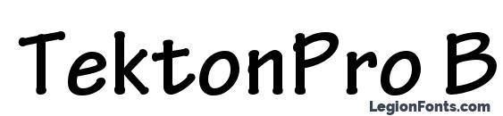 TektonPro Bold Font