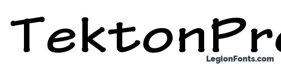 TektonPro BoldExt Font