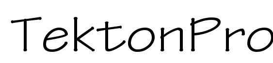 Шрифт TektonPro Ext