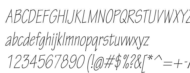глифы шрифта TektonPro LightCondObl, символы шрифта TektonPro LightCondObl, символьная карта шрифта TektonPro LightCondObl, предварительный просмотр шрифта TektonPro LightCondObl, алфавит шрифта TektonPro LightCondObl, шрифт TektonPro LightCondObl