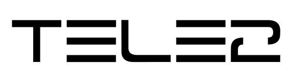 Шрифт Tele2