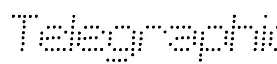 шрифт Telegraphic Light Italic, бесплатный шрифт Telegraphic Light Italic, предварительный просмотр шрифта Telegraphic Light Italic