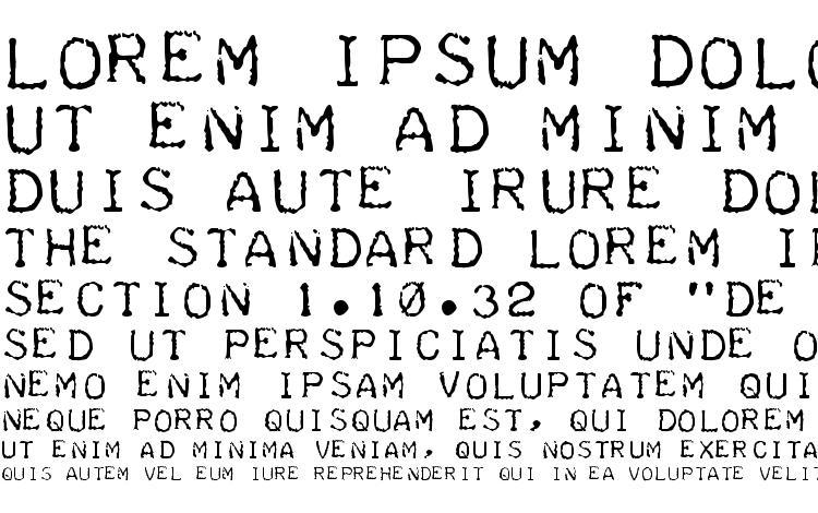 specimens Teleprinter Intalic font, sample Teleprinter Intalic font, an example of writing Teleprinter Intalic font, review Teleprinter Intalic font, preview Teleprinter Intalic font, Teleprinter Intalic font