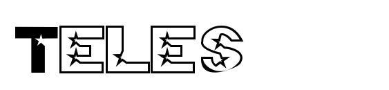 шрифт Teles, бесплатный шрифт Teles, предварительный просмотр шрифта Teles