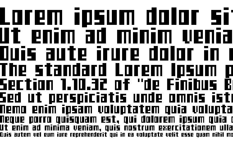 specimens Teletekst font, sample Teletekst font, an example of writing Teletekst font, review Teletekst font, preview Teletekst font, Teletekst font