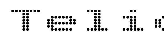 Telidon Ex Bold font, free Telidon Ex Bold font, preview Telidon Ex Bold font