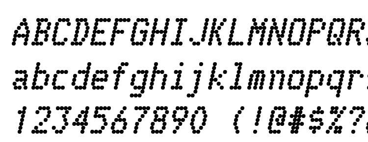 glyphs Telidon Hv Italic font, сharacters Telidon Hv Italic font, symbols Telidon Hv Italic font, character map Telidon Hv Italic font, preview Telidon Hv Italic font, abc Telidon Hv Italic font, Telidon Hv Italic font