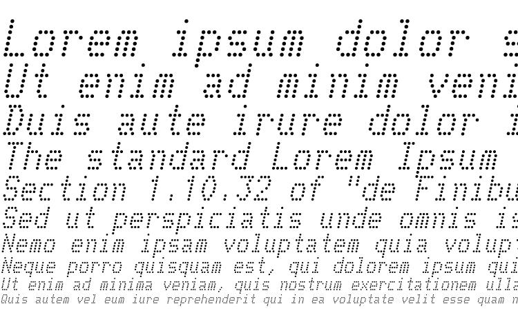 specimens Telidon Italic font, sample Telidon Italic font, an example of writing Telidon Italic font, review Telidon Italic font, preview Telidon Italic font, Telidon Italic font