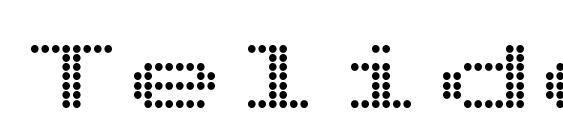 шрифт TelidonEx Bold, бесплатный шрифт TelidonEx Bold, предварительный просмотр шрифта TelidonEx Bold