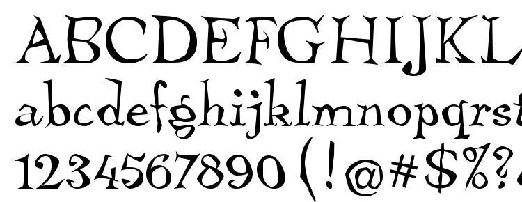 glyphs TembleITC TT font, сharacters TembleITC TT font, symbols TembleITC TT font, character map TembleITC TT font, preview TembleITC TT font, abc TembleITC TT font, TembleITC TT font
