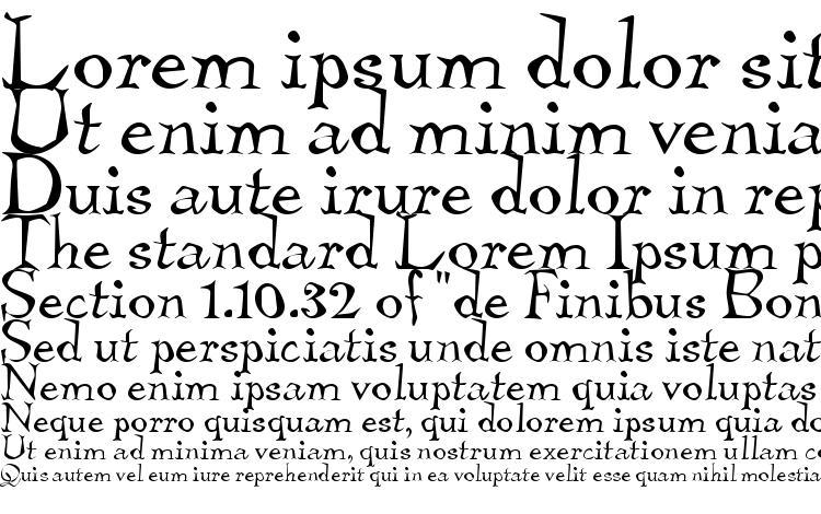 specimens TembleITC TT font, sample TembleITC TT font, an example of writing TembleITC TT font, review TembleITC TT font, preview TembleITC TT font, TembleITC TT font