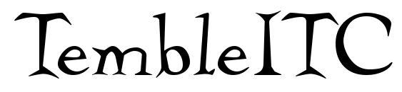 TembleITC TT Font
