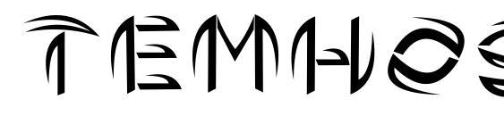 Шрифт Temhoss (by hasan)