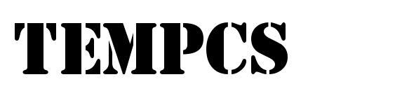 Tempcs font, free Tempcs font, preview Tempcs font