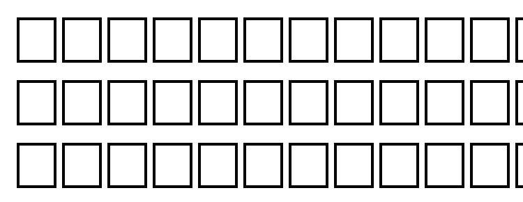 глифы шрифта Tempestital regular, символы шрифта Tempestital regular, символьная карта шрифта Tempestital regular, предварительный просмотр шрифта Tempestital regular, алфавит шрифта Tempestital regular, шрифт Tempestital regular