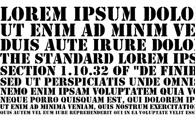 specimens Template Caps SSi font, sample Template Caps SSi font, an example of writing Template Caps SSi font, review Template Caps SSi font, preview Template Caps SSi font, Template Caps SSi font