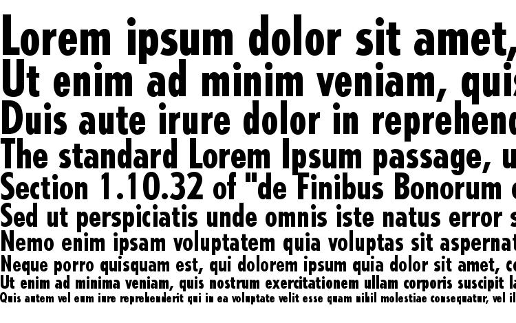 specimens Tempo LT Heavy Condensed font, sample Tempo LT Heavy Condensed font, an example of writing Tempo LT Heavy Condensed font, review Tempo LT Heavy Condensed font, preview Tempo LT Heavy Condensed font, Tempo LT Heavy Condensed font