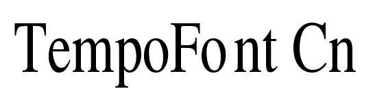 TempoFont Cn Font