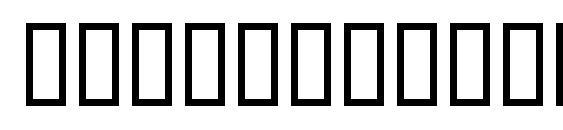 Шрифт TempsExpt RomanSH