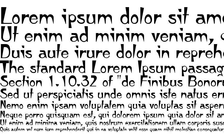 specimens Tempura Regular font, sample Tempura Regular font, an example of writing Tempura Regular font, review Tempura Regular font, preview Tempura Regular font, Tempura Regular font