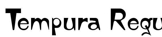 Шрифт Tempura Regular