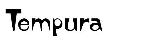 Шрифт Tempura