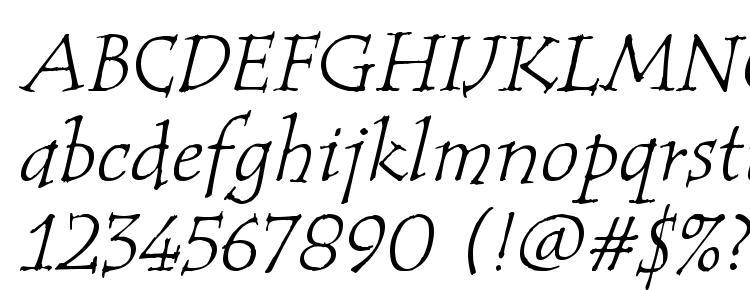 глифы шрифта Tempus ITC TT Italic, символы шрифта Tempus ITC TT Italic, символьная карта шрифта Tempus ITC TT Italic, предварительный просмотр шрифта Tempus ITC TT Italic, алфавит шрифта Tempus ITC TT Italic, шрифт Tempus ITC TT Italic