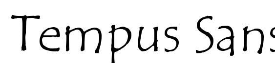 Шрифт Tempus Sans ITC