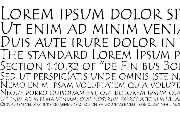 specimens Tempus Sans SC ITC TT font, sample Tempus Sans SC ITC TT font, an example of writing Tempus Sans SC ITC TT font, review Tempus Sans SC ITC TT font, preview Tempus Sans SC ITC TT font, Tempus Sans SC ITC TT font