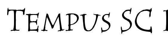 Tempus SC ITC TT font, free Tempus SC ITC TT font, preview Tempus SC ITC TT font