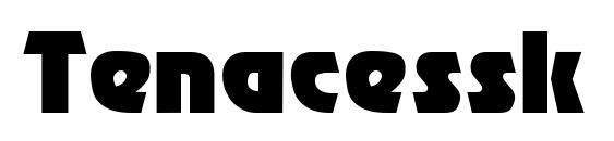 Tenacessk regular Font