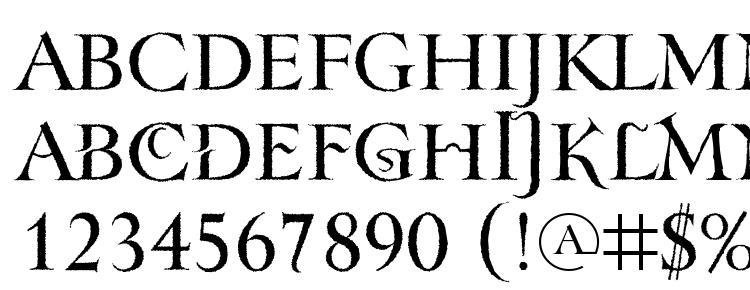 glyphs TenebraOldFace font, сharacters TenebraOldFace font, symbols TenebraOldFace font, character map TenebraOldFace font, preview TenebraOldFace font, abc TenebraOldFace font, TenebraOldFace font